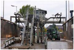 Pfeifer & Langen - Entladestelle für die von den Bauern angelieferten Rüben