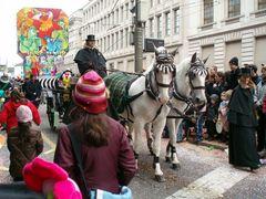Pferde bei der Fasnacht in Basel | 6