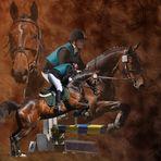 Pferdecollage III