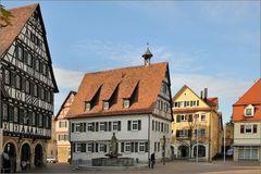 Pfullingen - Im November am Marktplatz