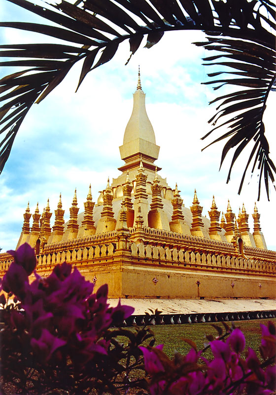 Pha That Luang - Nationalsymbol Laos'