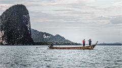 Phang Nga Bay - Fisherboat