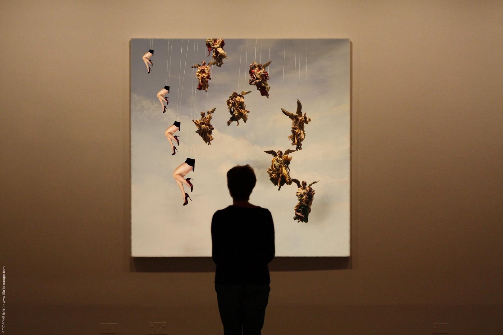 phantasm creation in the museum