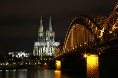 Philharmonie, Dom, Hohenzollernbrücke