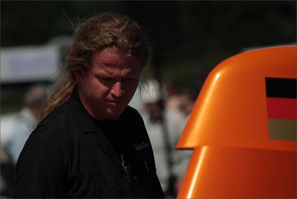 Philipp Steinbach ,after landing..