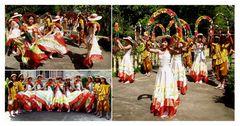 Philippinische Folklore im Garten