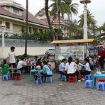 Phnom Penh - Mittagspause