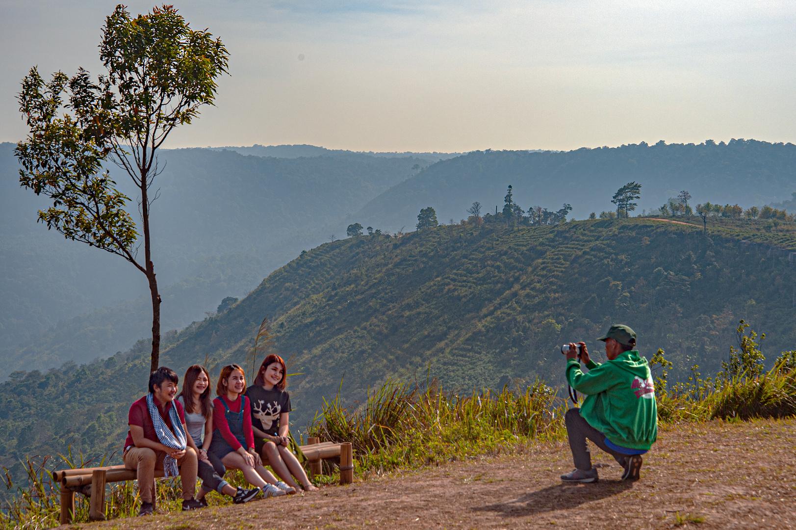 Photo at Phu Lom Lo viewpoint