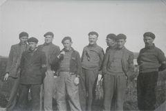 Photo de groupe en 1939 ou 1940