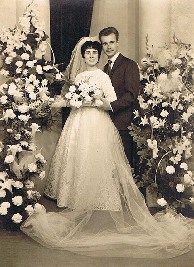Photo de mariage - 1961