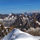 Photo prise de l'Aiguille du Midi