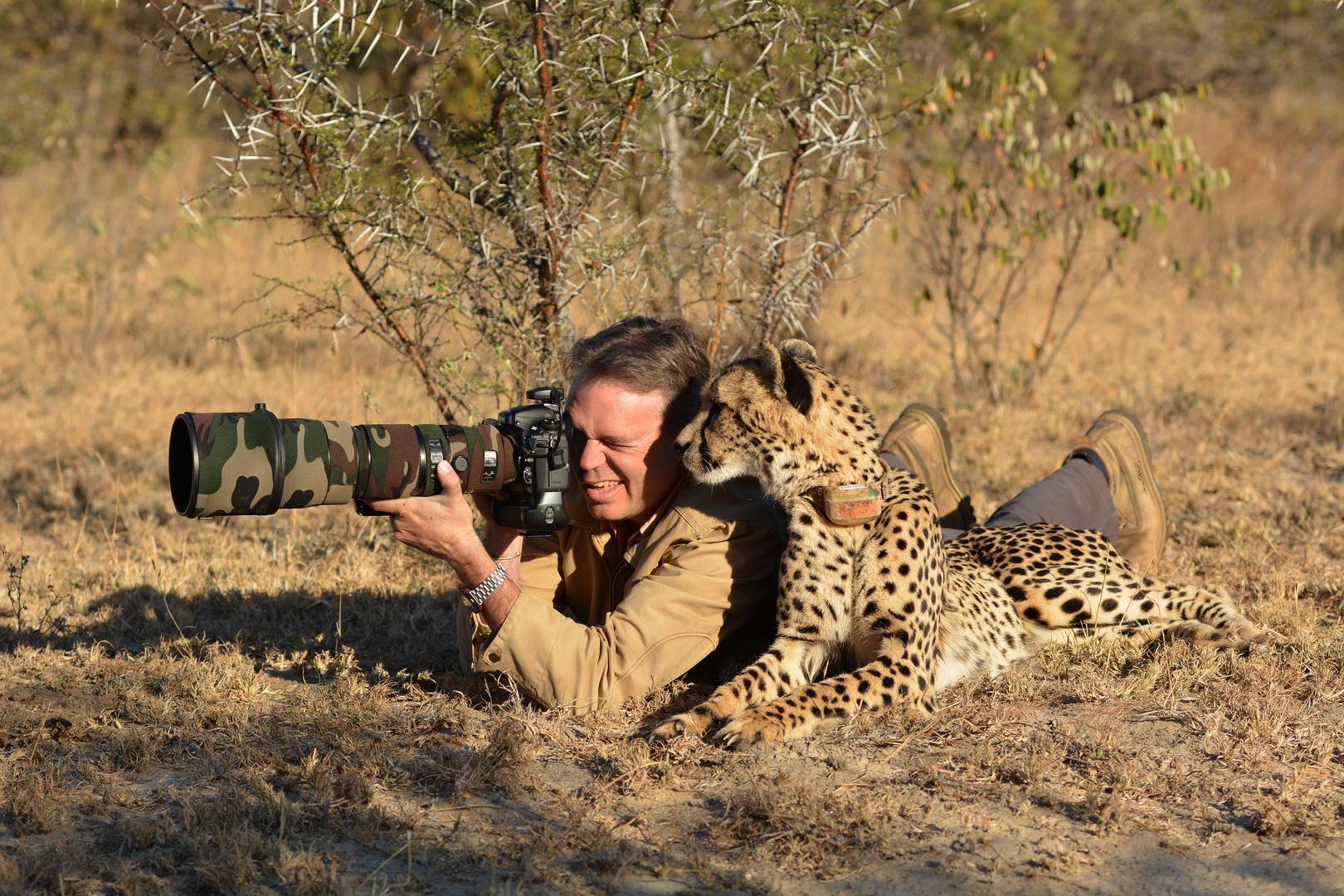 Photo Safari with a Cheetah...