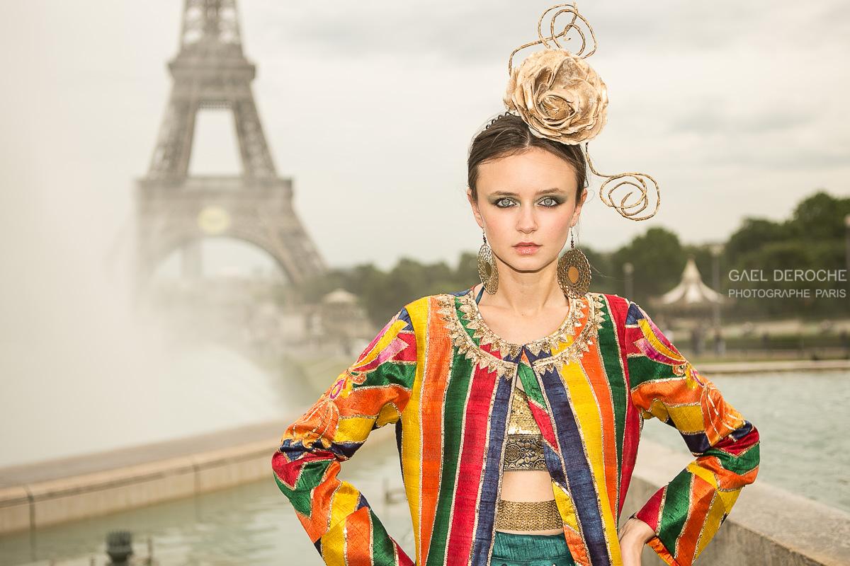 Photographe de mode Paris, lookbook haute couture et styliste