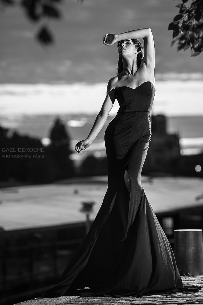 Photographe de mode Paris, lookbook styliste mode, noir et blanc