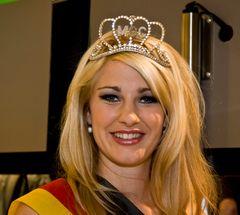 """Photokina 2008 - Die amtierende Miss Germany """"Kim-Valerie Voigt"""".."""