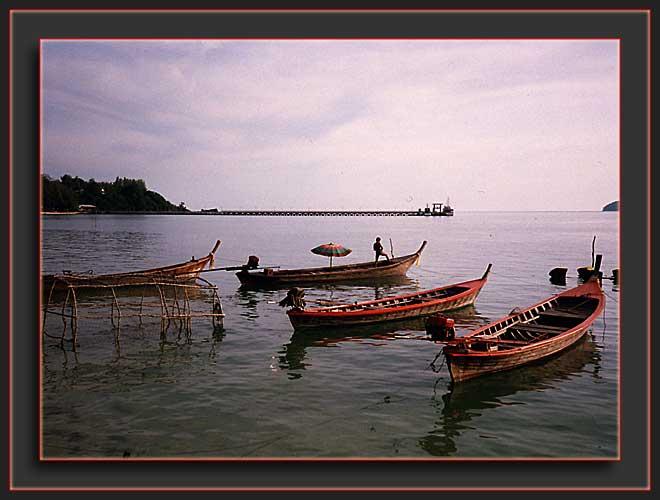 Phuket-Fischerboote