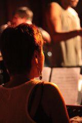 Pianistin im Gegenlicht Gee Hye Lee