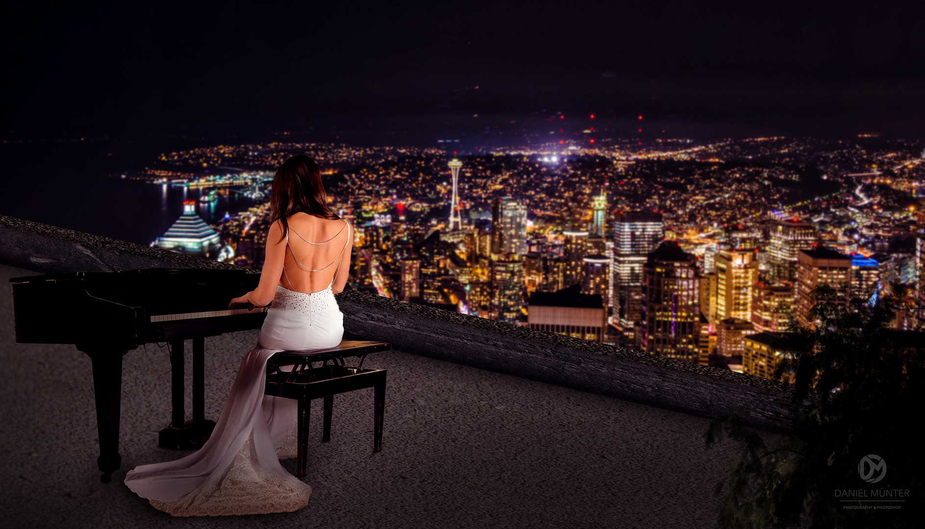Piano on the roof