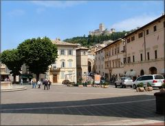 Piazza a Assisi