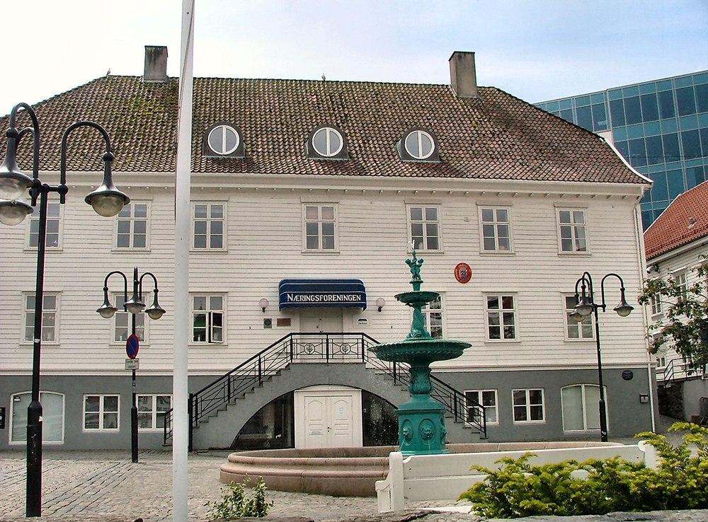 * Piazza a Stavanger *