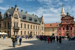 Piazza Basilica San Giorgio, Praga