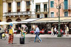 Piazza Bra a Verona
