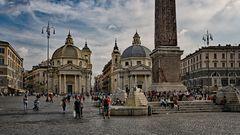 Piazza de Popolo - Roma -