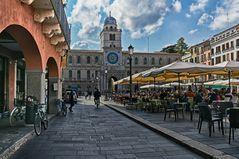Piazza dei Signori, Padua  Reloj Y Cúpula Del Palazzo Del Capitanio
