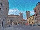Piazza del Duomo,Belluno. Scorcio 2
