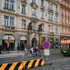 Piazza del municipio di Praga
