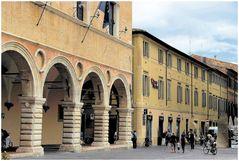 Piazza del popolo-Pesaro