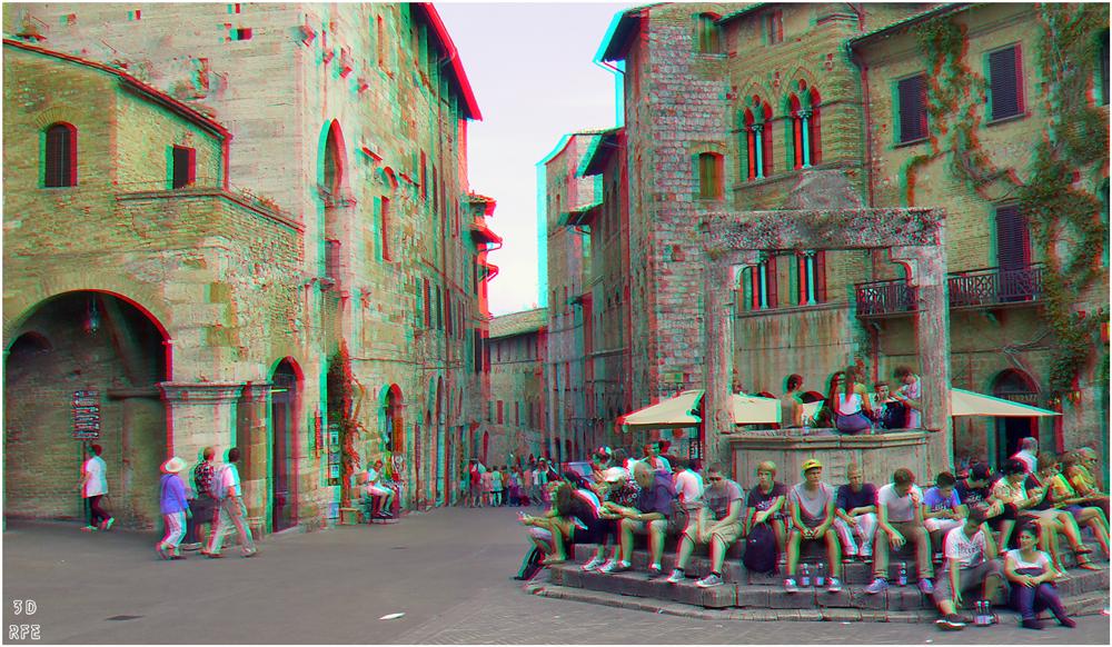 Piazza della Cisterna (3D+MPO-Link)