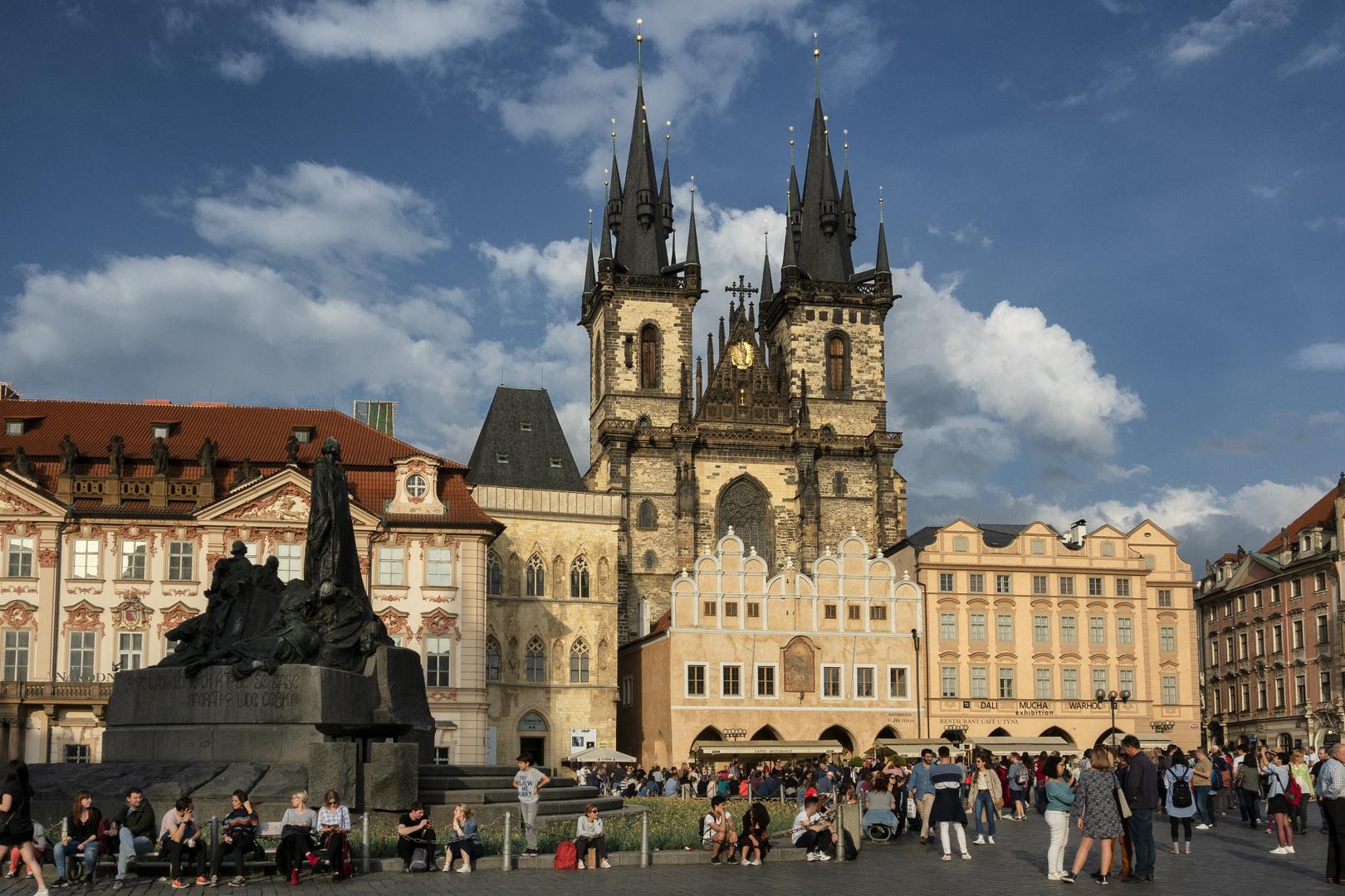 Piazza della Città Vecchia, Praga