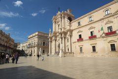 """Piazza Duomo a Siracusa """"Ortigia"""""""