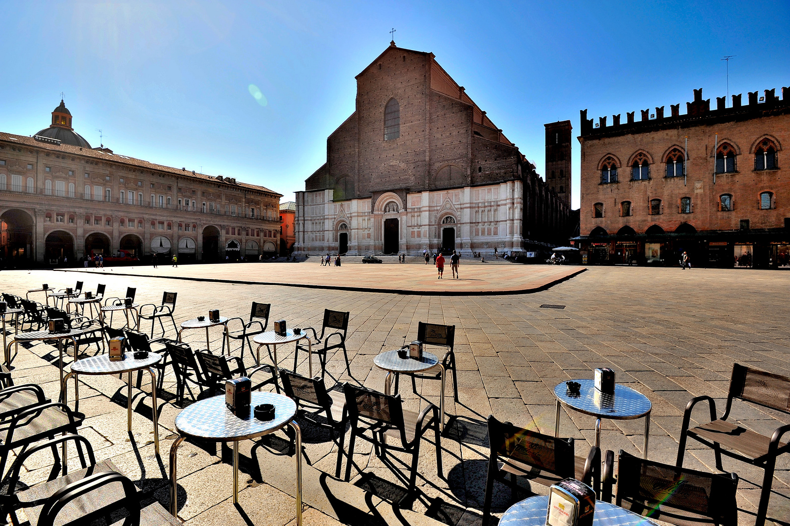 Piazza Maggiore...