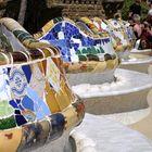 piazza mercato, park Guell, Barcelona