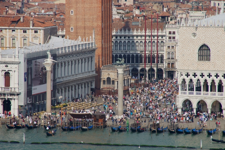 Piazza San Marco 10.55 Uhr
