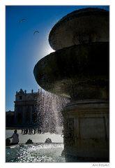 Piazza San Pietro - Fontana del Maderno