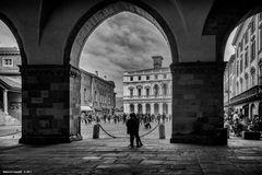 Piazza vecchia, Bergamo alta