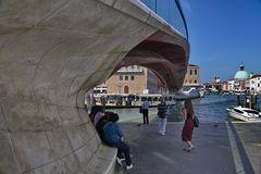 Piazzale Roma Stadt in der Lagune