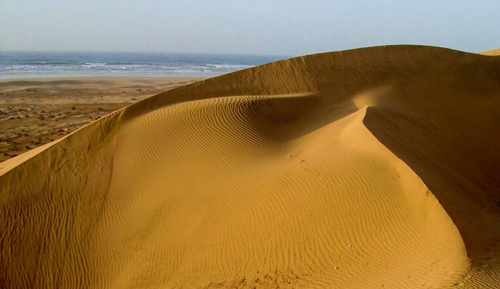 piccola duna al mare