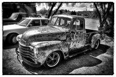 Pick Up mit Patina