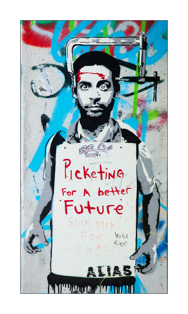 Picketing for a better future