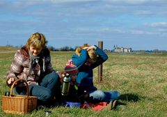 °°° Picknick vor den Toren Torgau's in den Winterferien °°°