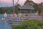 Picknikplatz am Boardwalk zum Golf
