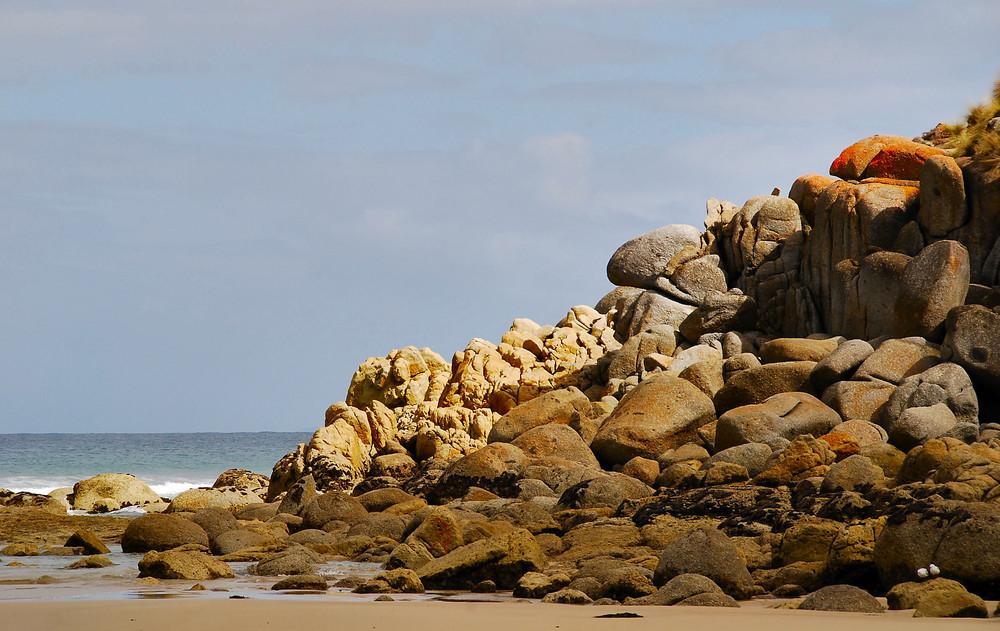 Picnic Bay - Felswand