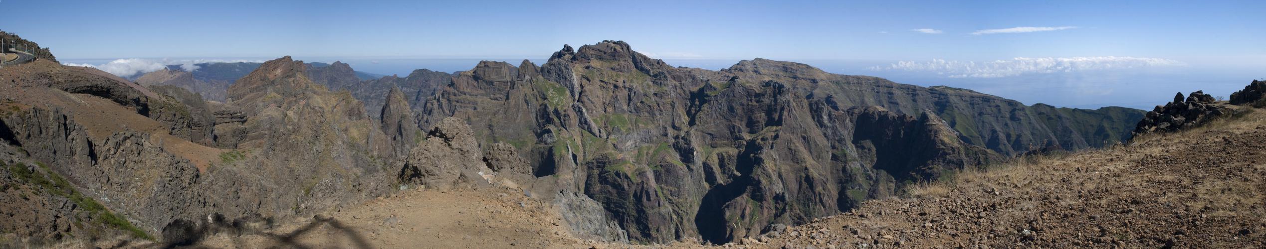 Pico do Arieiro-Panorama