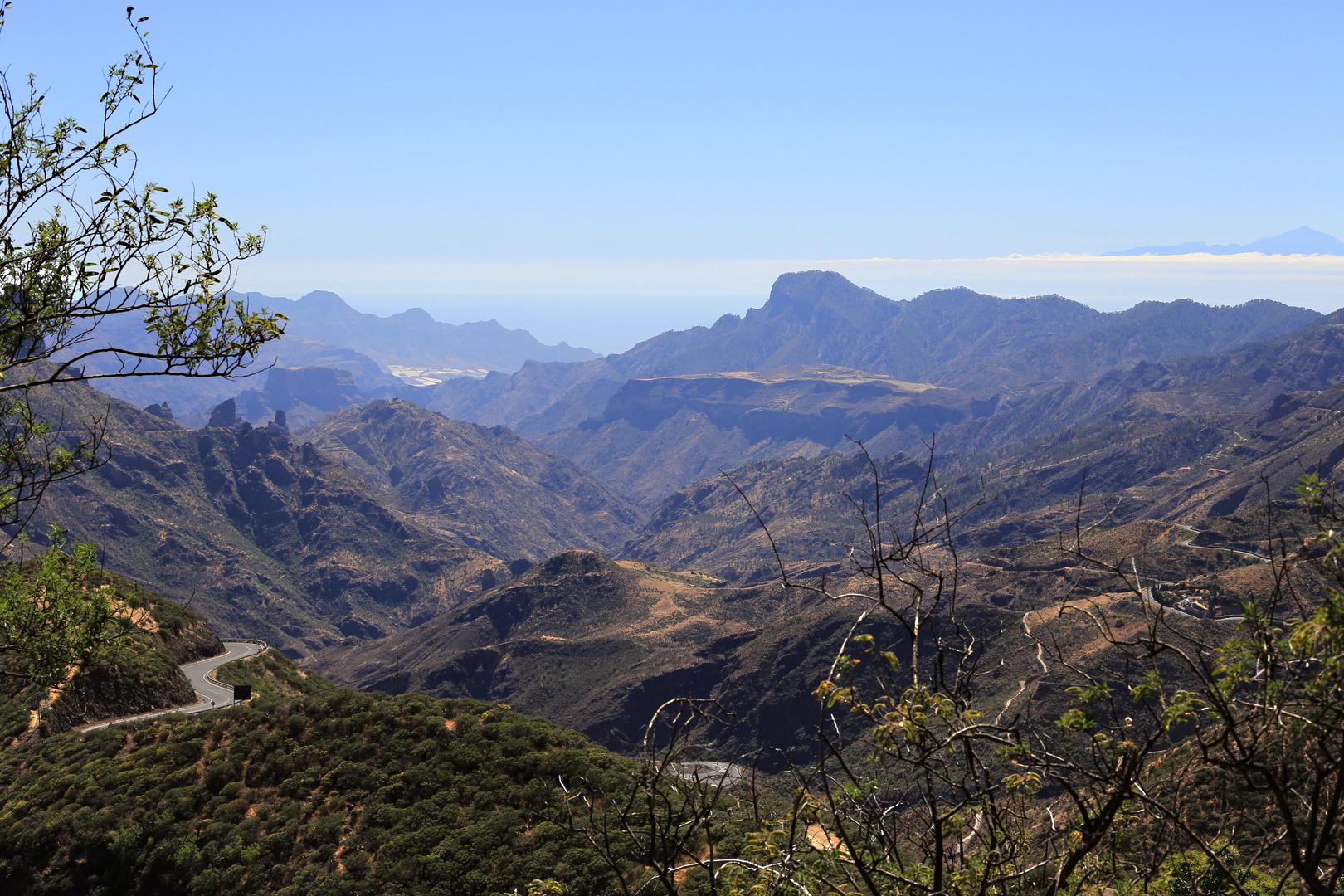Pico mit Blick auf den Teide