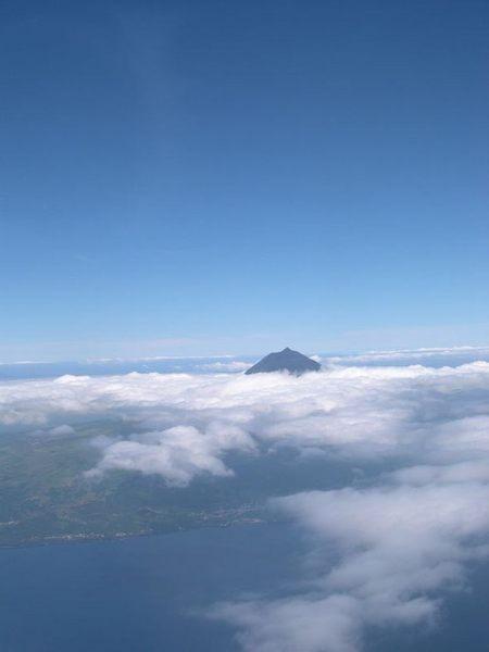 Pico mit Wolkenkranz