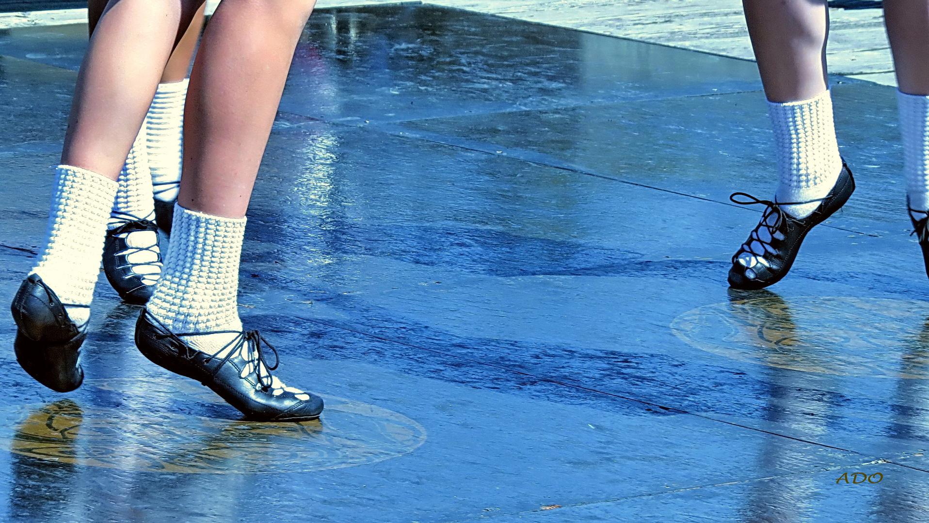 pieds dansants